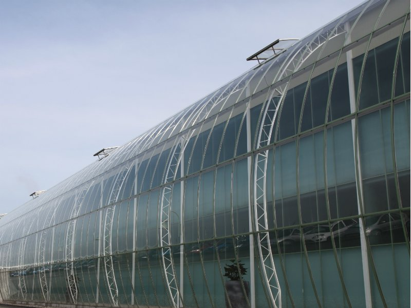 Custom greenhouse gable system